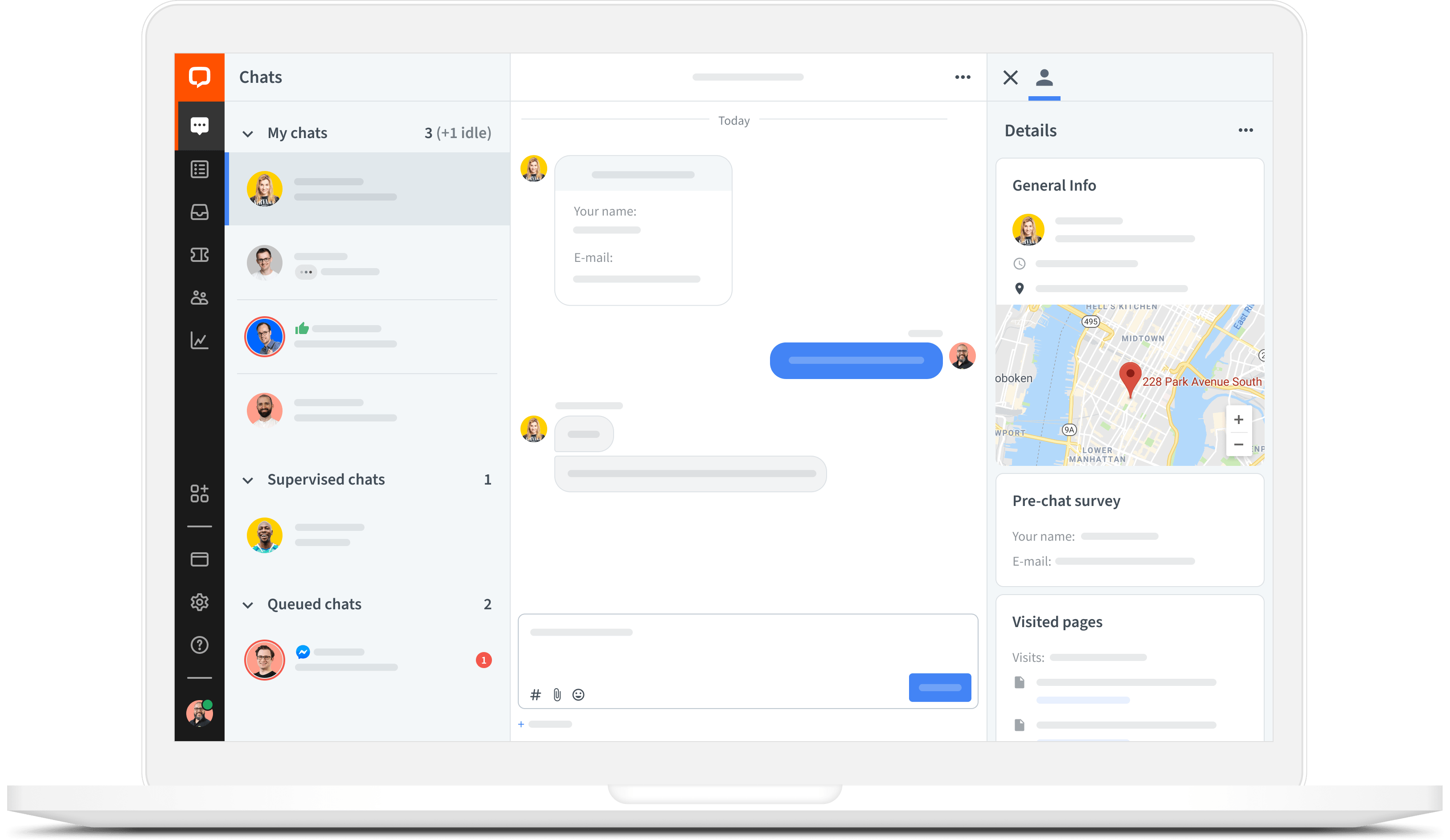 LiveChat app for Mac