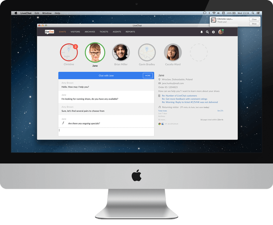 LiveChat Download: macOS Application