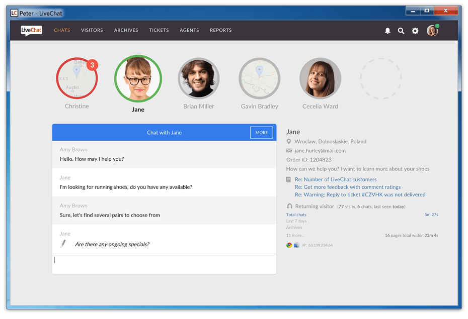 Download do LiveChat: Aplicativo para Windows