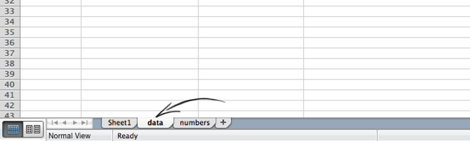 Placing the LiveChat report in the data tab in Excel