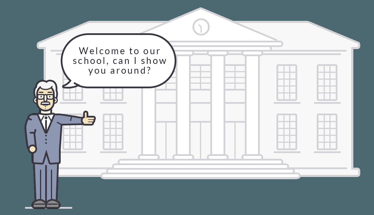 LiveChat - Help in school planning