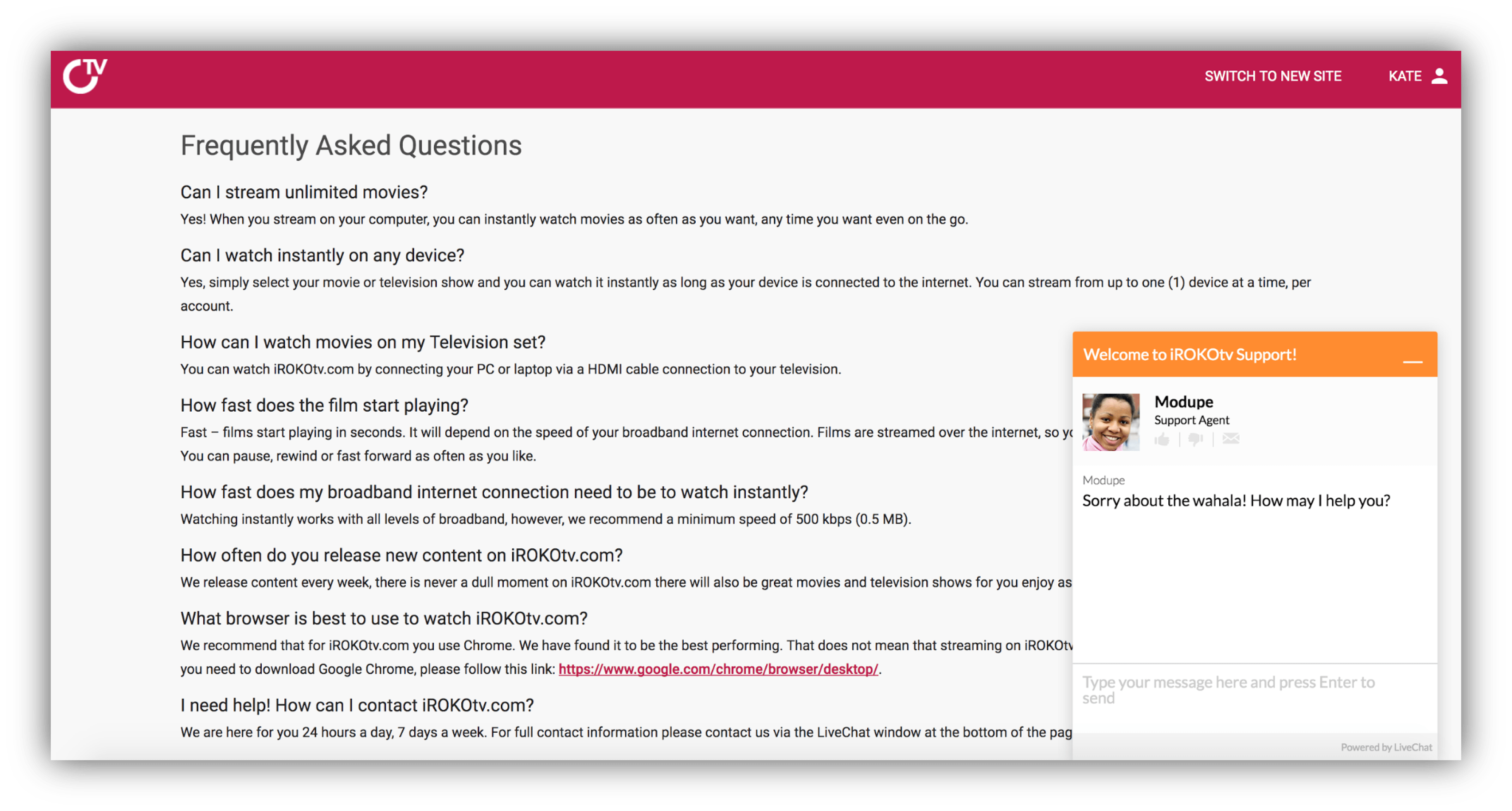 In app support with Live Chat | The best way to support your