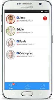 LiveChat para Android