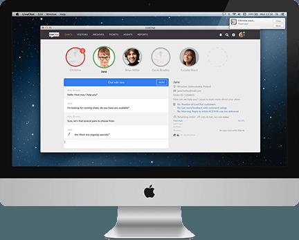 LiveChat für MacOS