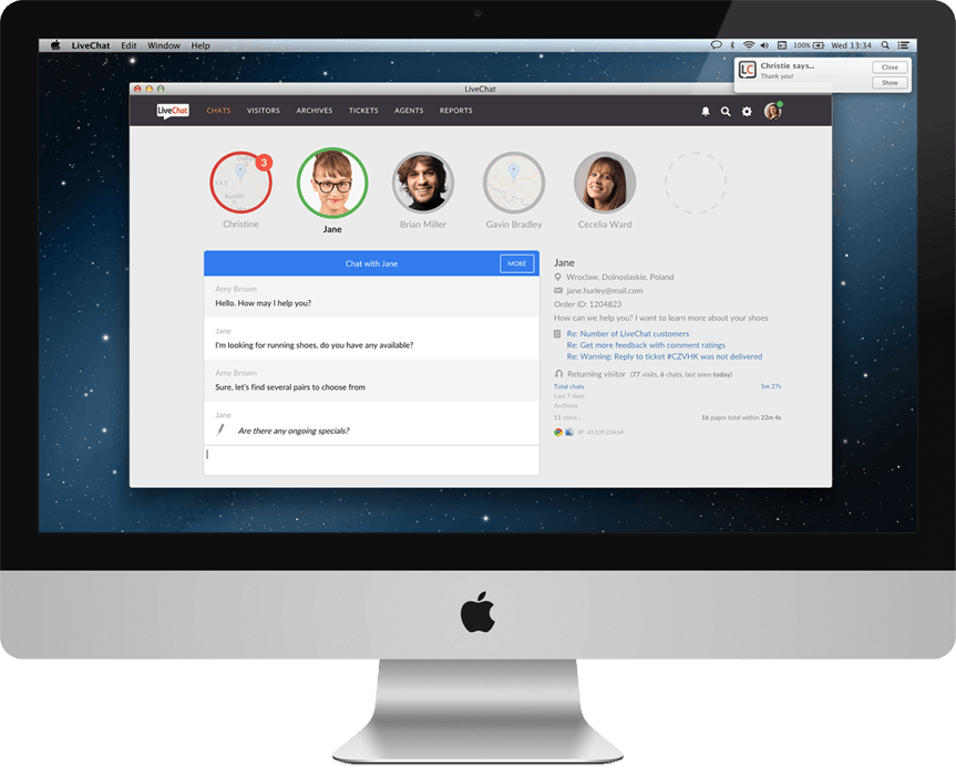 Mac Live Chat - Download | LiveChat for MacOS