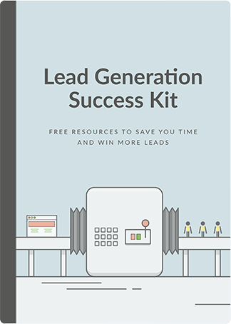 Lead Generation Tools by LiveChat include ready to use Success Kit with lead generation workflow, checklist and email templates