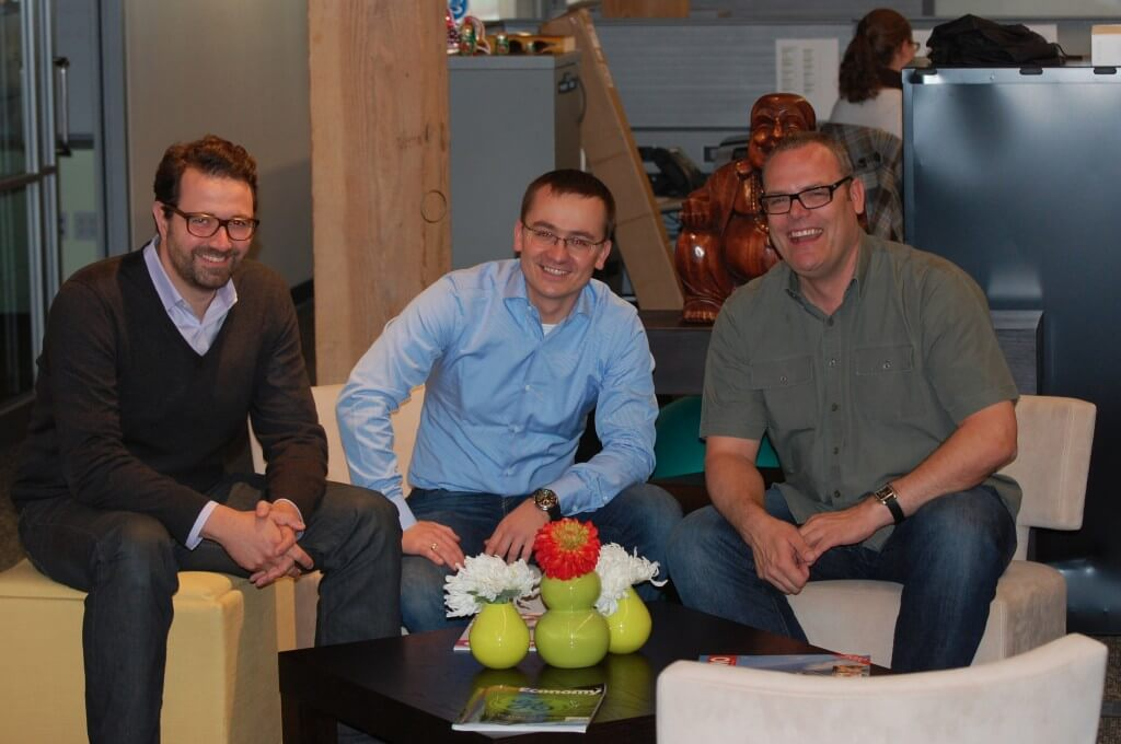 Zendesk and LiveChat CEOs in San Francisco