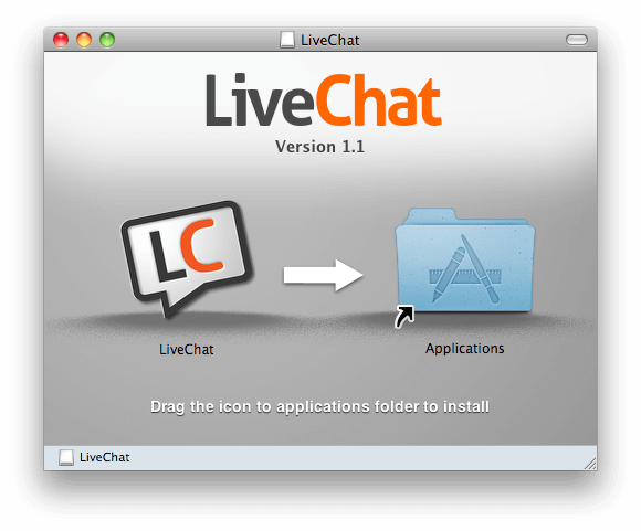 LiveChat for Mac