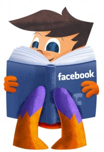 ROI Boy with Facebook