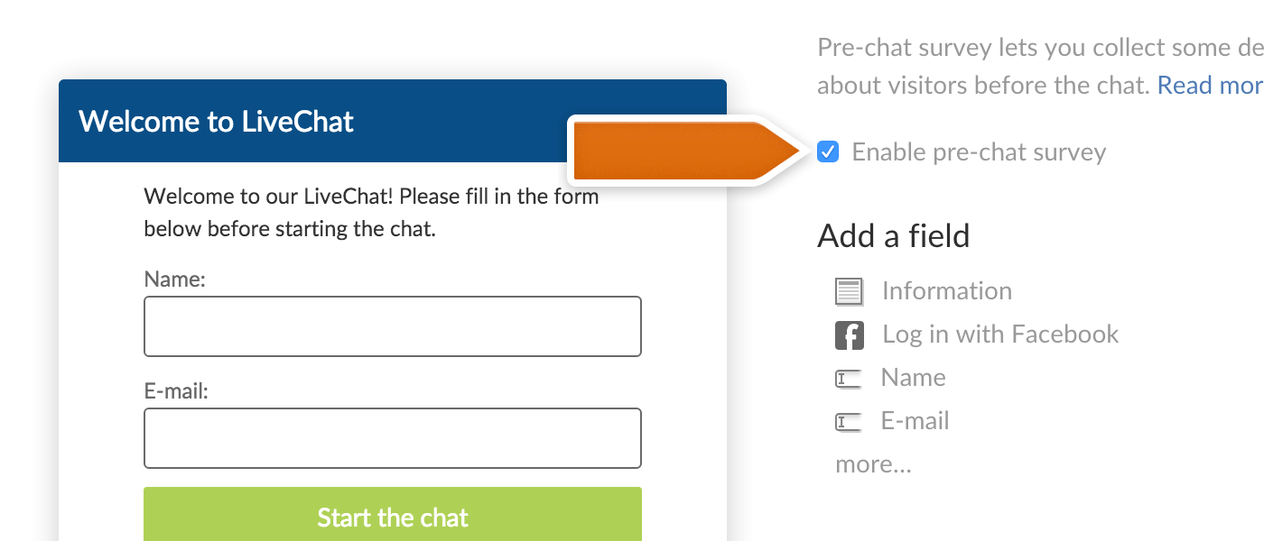 Chat Surveys Livechat Knowledge Base