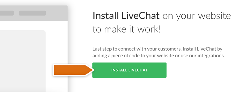Implement live chat on your website