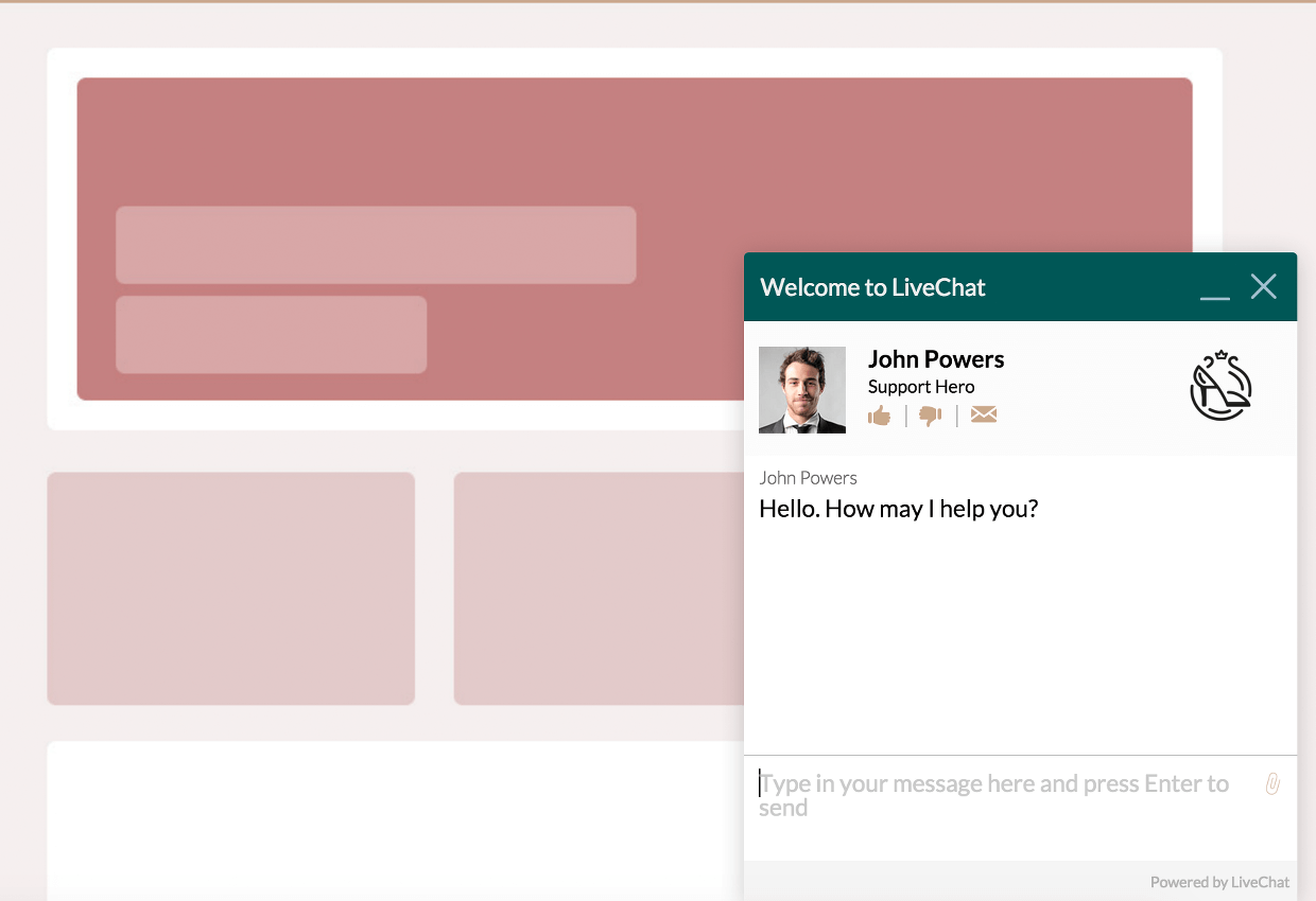 Customize the chat window with CSS