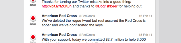 Good PR by The Red Cross