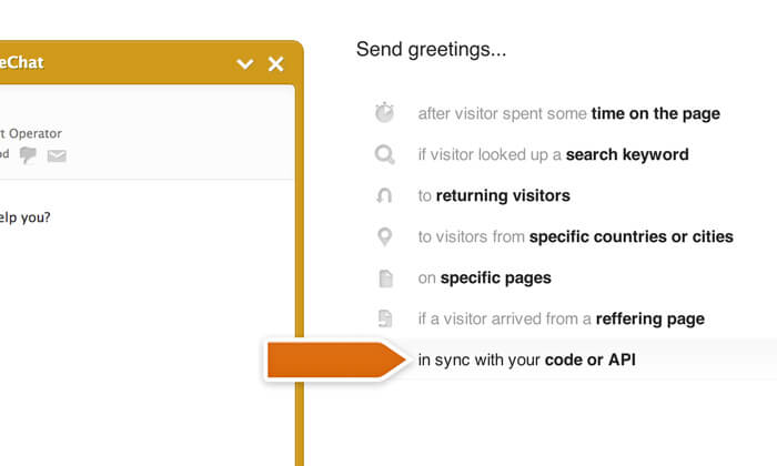 Configuring greeting type