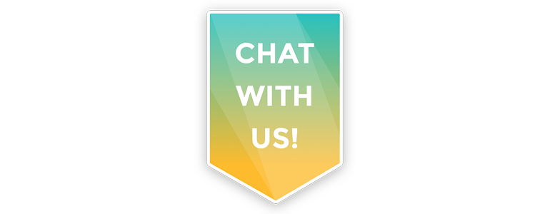 Encourage your visitors to chat!