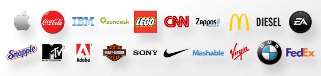 Brand logotypes promise specific qualities