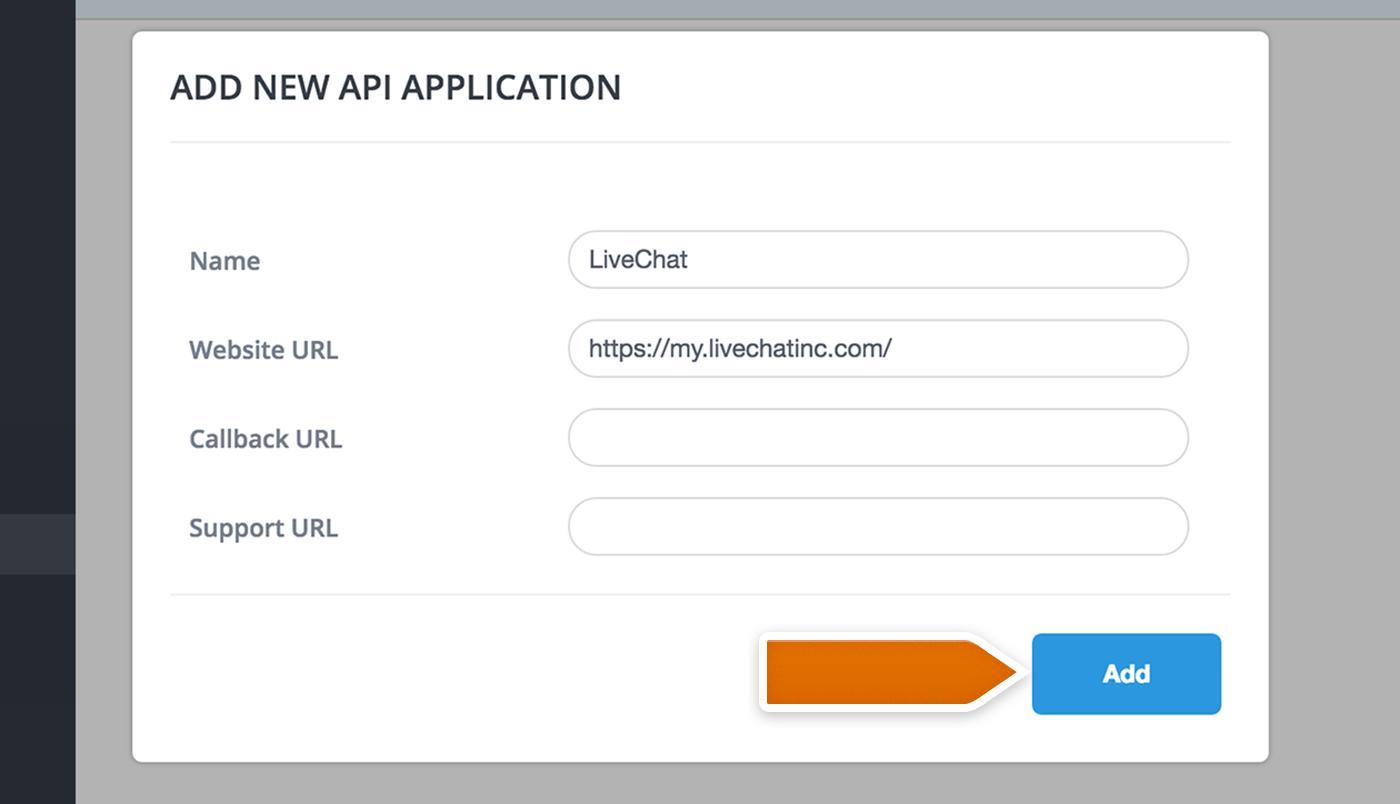 Desk.com Integration: Adding New API App Pictures