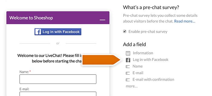 Enabling Facebook Connect integration