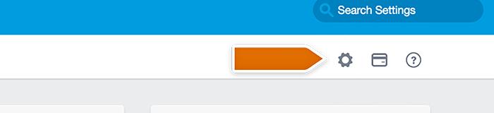 Accessing desk.com admin settings