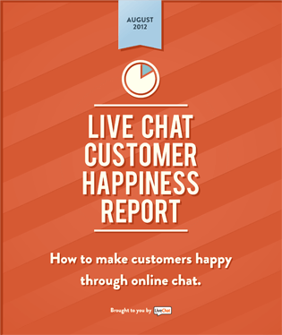 Report on Customer Happiness of Live Chat Users