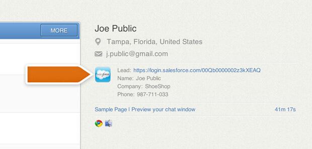 LiveChat's Salesforce integration get's an update
