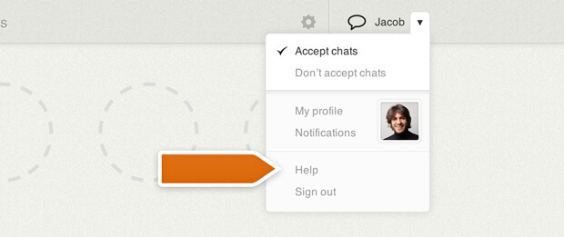 In-app support in LiveChat