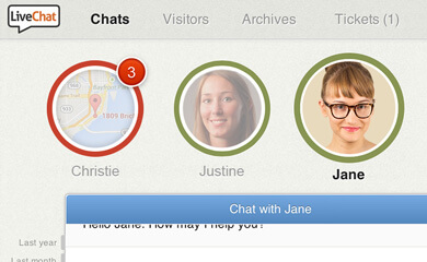 New LiveChat - Polished look