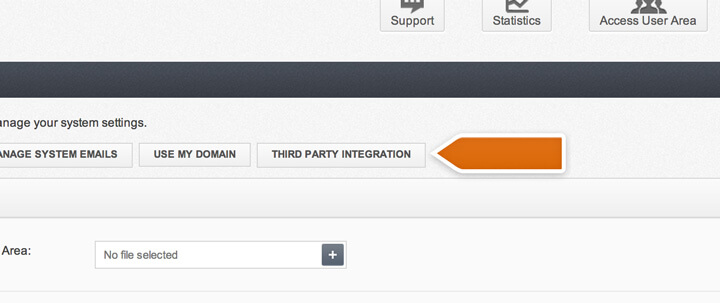 Accessing 3rd party integrations