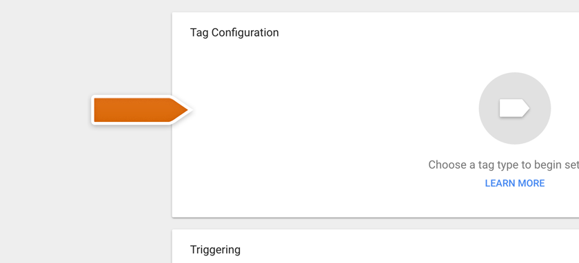 Click on Tag Configuration