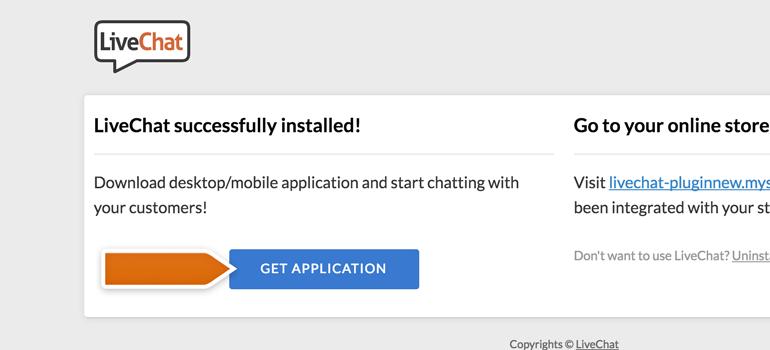 Download LiveChat desktop app