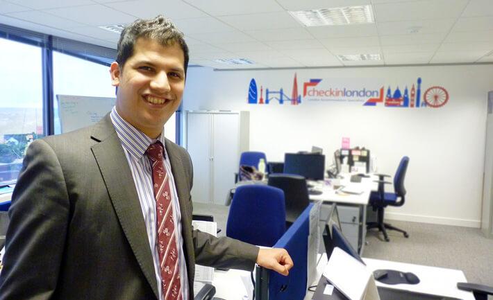 Gavin Pereira, Managing Director at Check-in-London