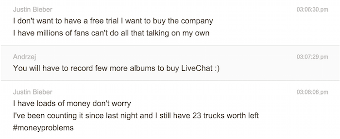 chat-transcription-bieber