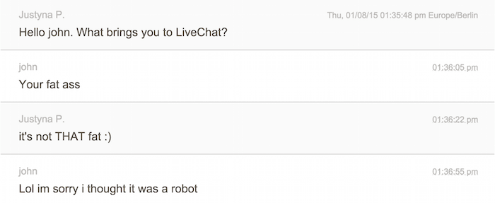 chat transcription prince charming