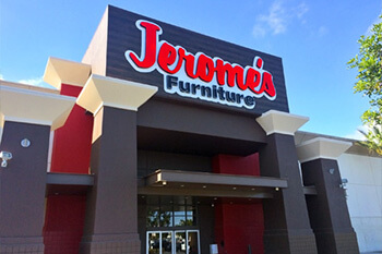 Jerome's Furniture store in Anaheim
