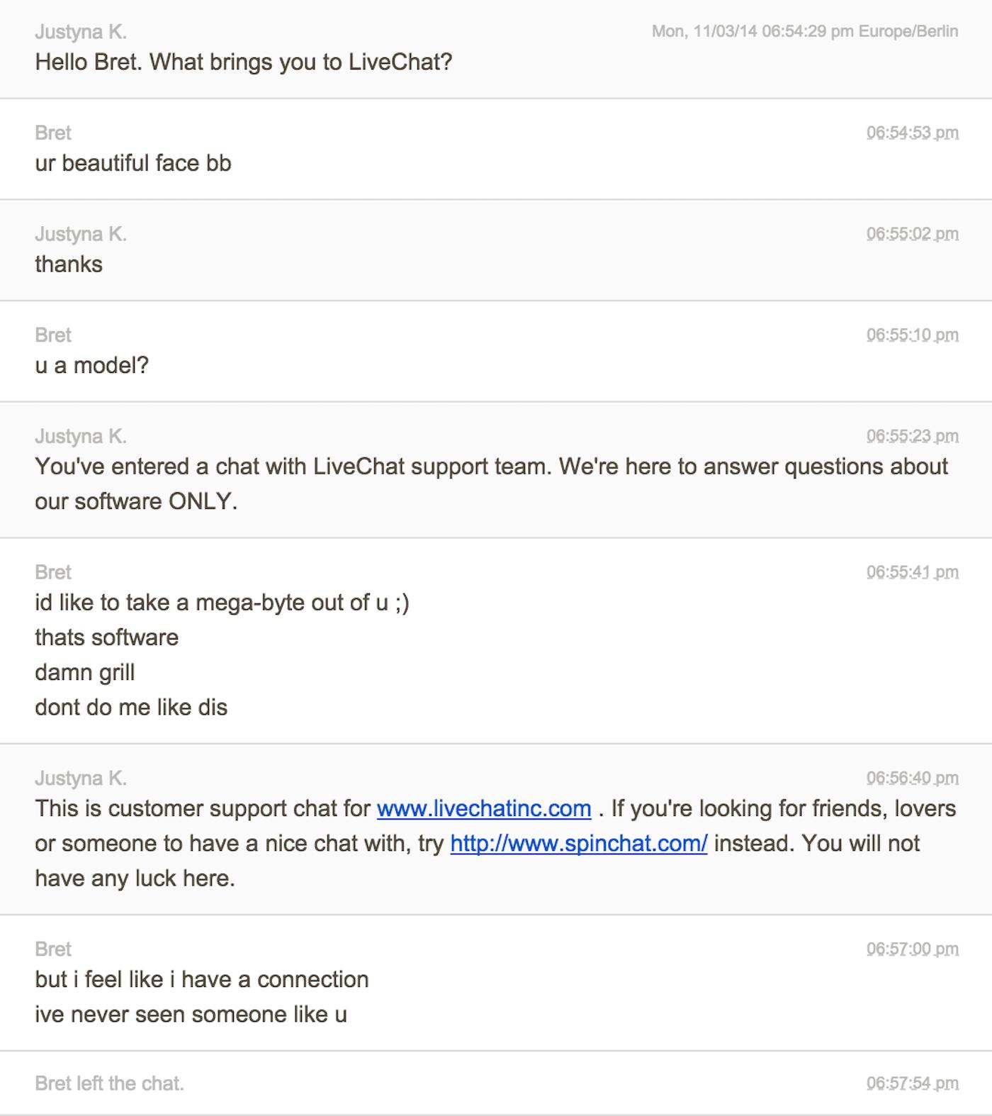 Customer Support Chat Trolling Service   Univerthabitat