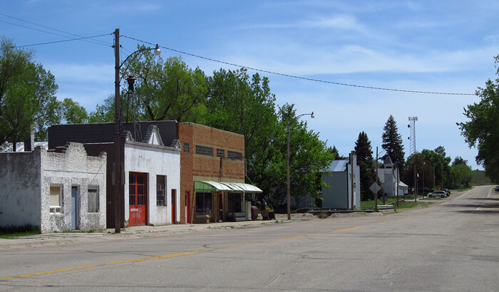 Small town in Nebraska
