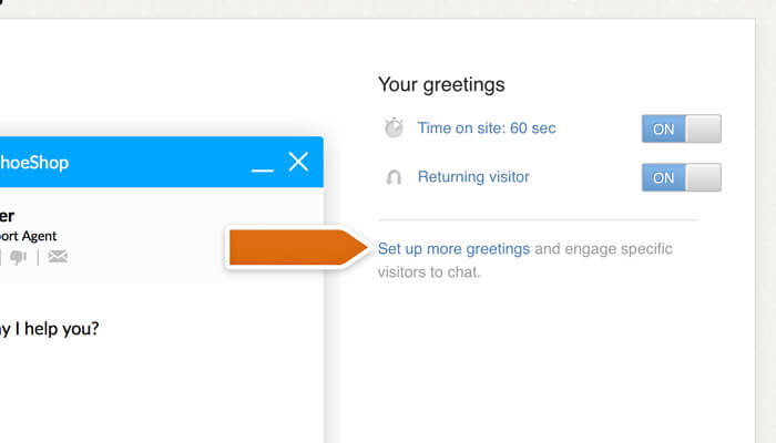 Creating a new greeting for an email marketing campaign