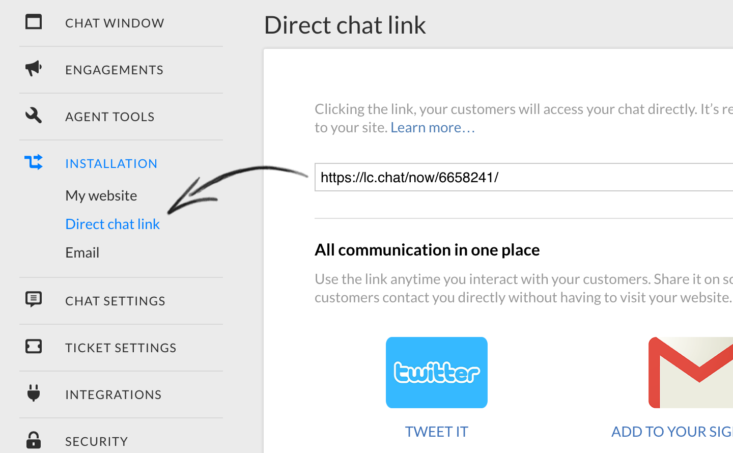livechat-direct-link-lcpanel