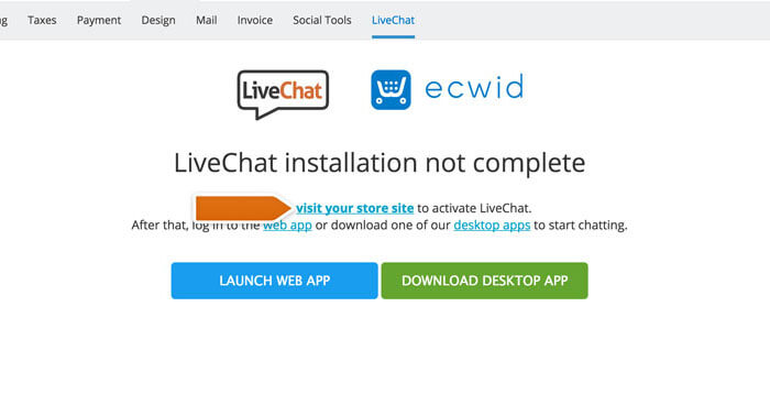 ecwid-add-livechat-publish