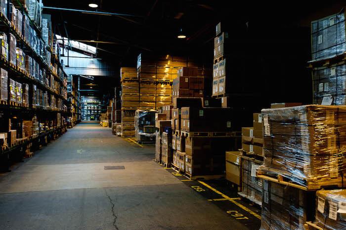 dark warehouse