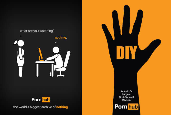 pornhub commercials