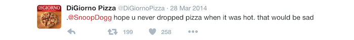 Digiorno Snoop Dogg Twitter
