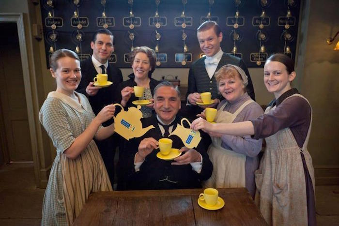 downton abbey staff exceptional customer service