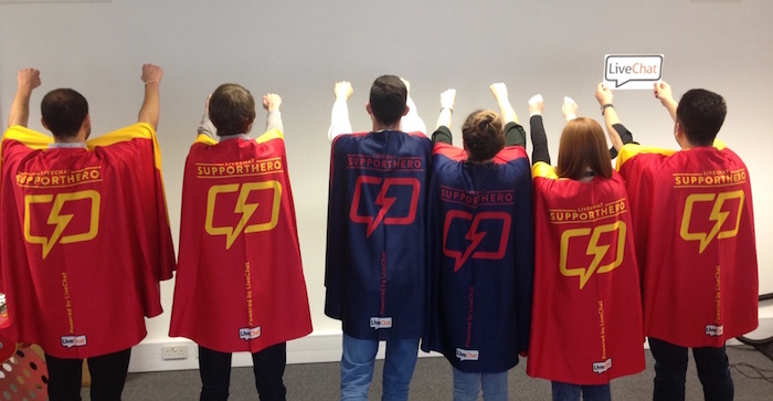 customer appreciation ideas: support capes