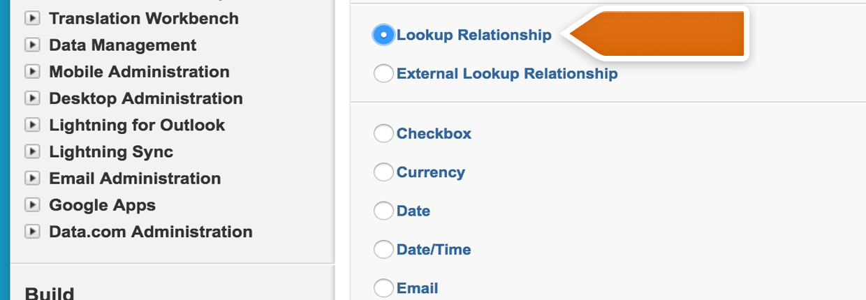 Salesforce Lookup Relationships