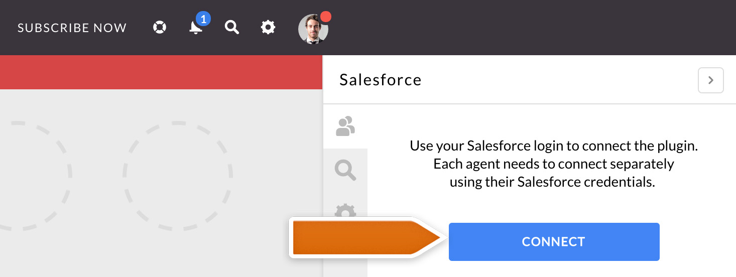 Connecting Salesforce plugin to LiveChat