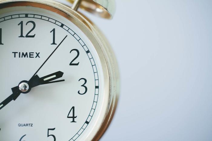 time ticking clock