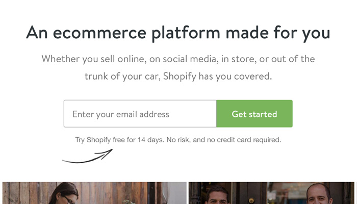 Content creation strategy from Shopify
