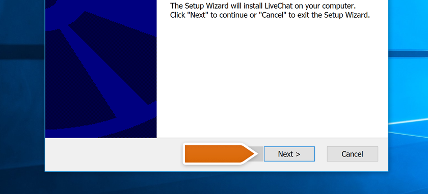 LiveChat Setup Wizard