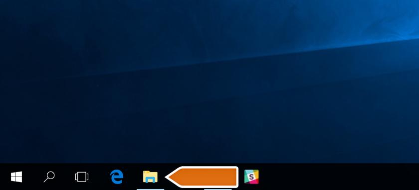 Entering File Explorer